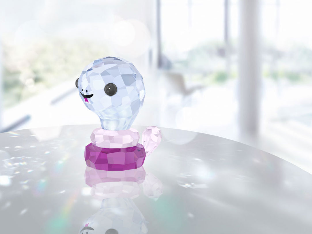 Swarovski Crystal, Lovlots Zodiac Protective Snake