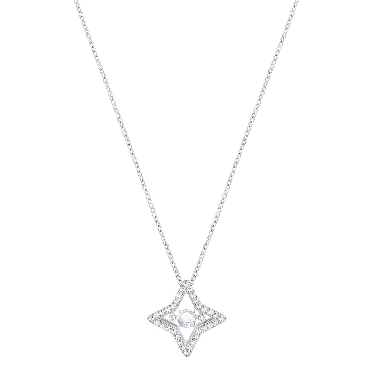 Swarovski Sparkling Dance Small Star Crystal Pendant Necklace