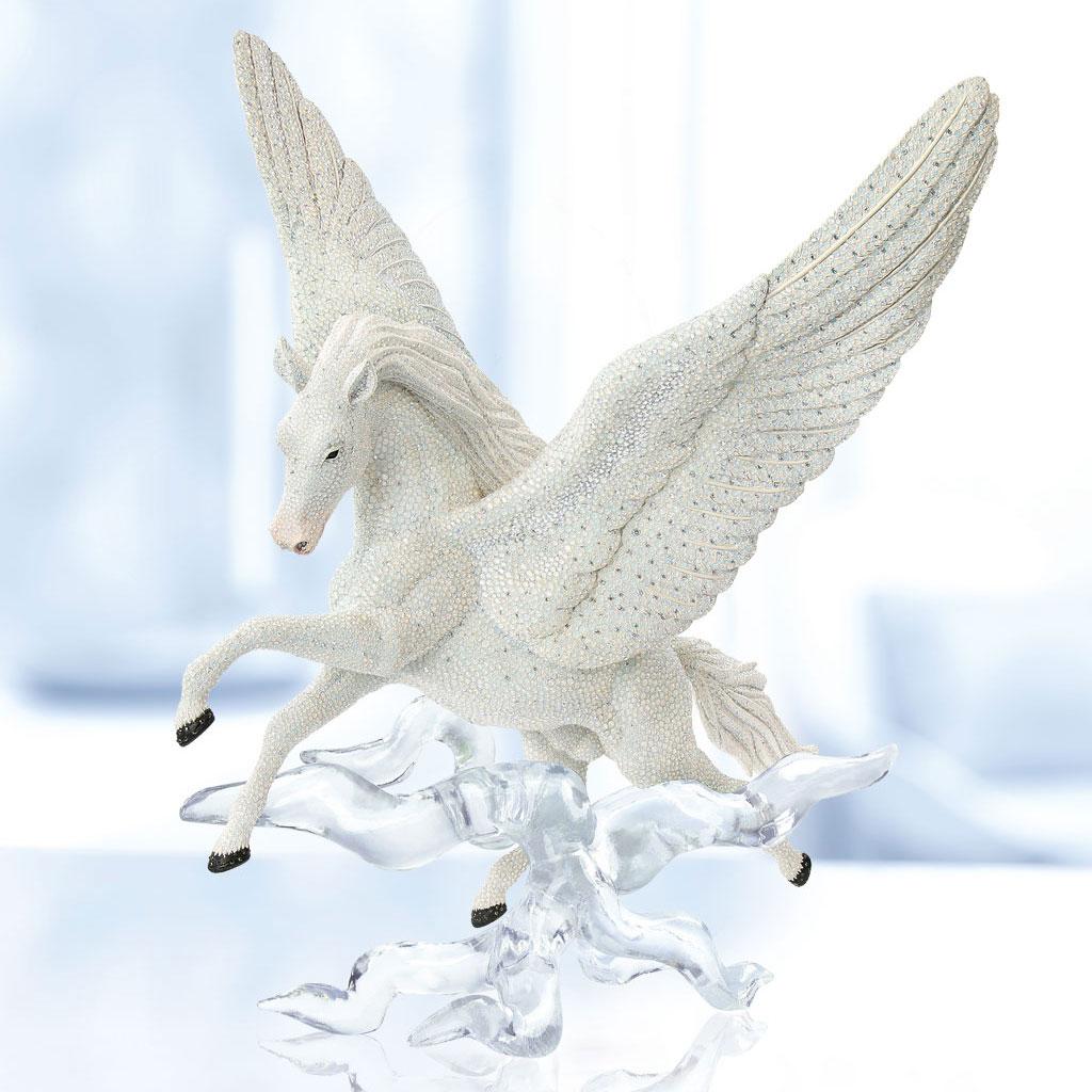 Swarovski Crystal Myriad Pegasus Sculpture