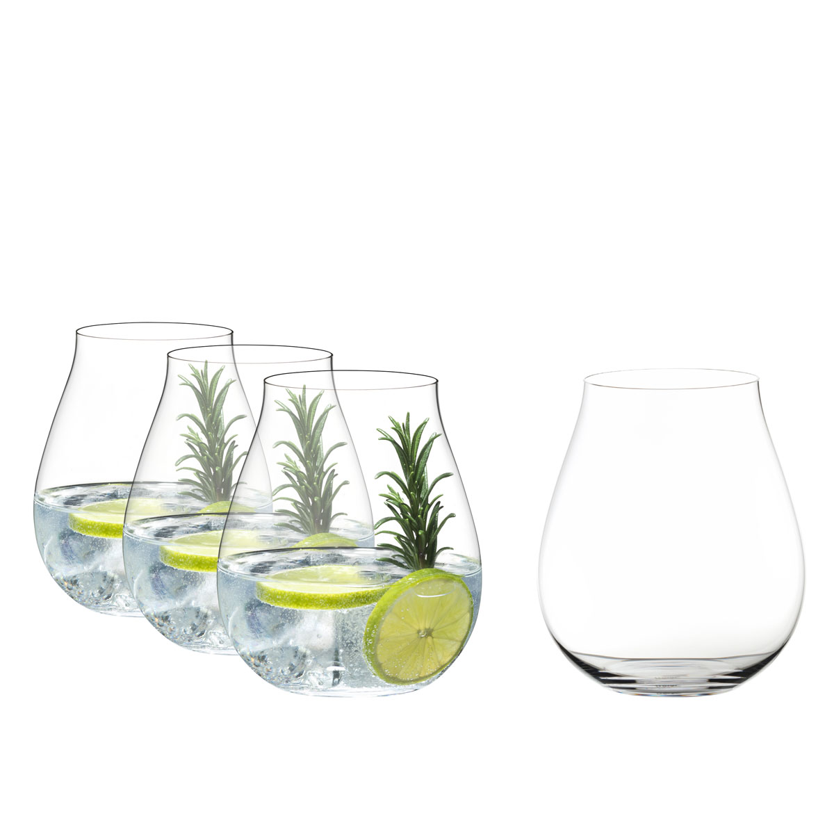 Riedel O Stemless Gin Set of Four