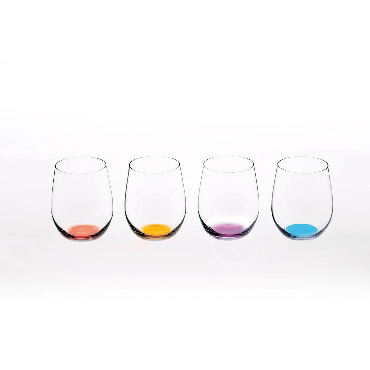 Riedel Happy O Vol. 2 Stemless Wine Glasses, Set of Four