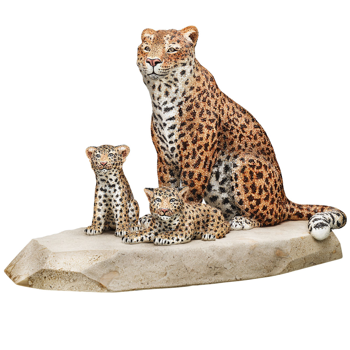 Swarovski Myriad Reka Leopards, Limited Edition
