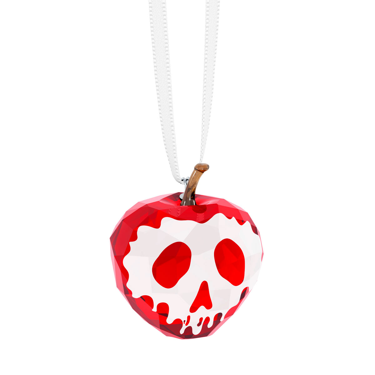 Swarovski Crystal Disney Snow White Collection Poisoned Apple Ornament