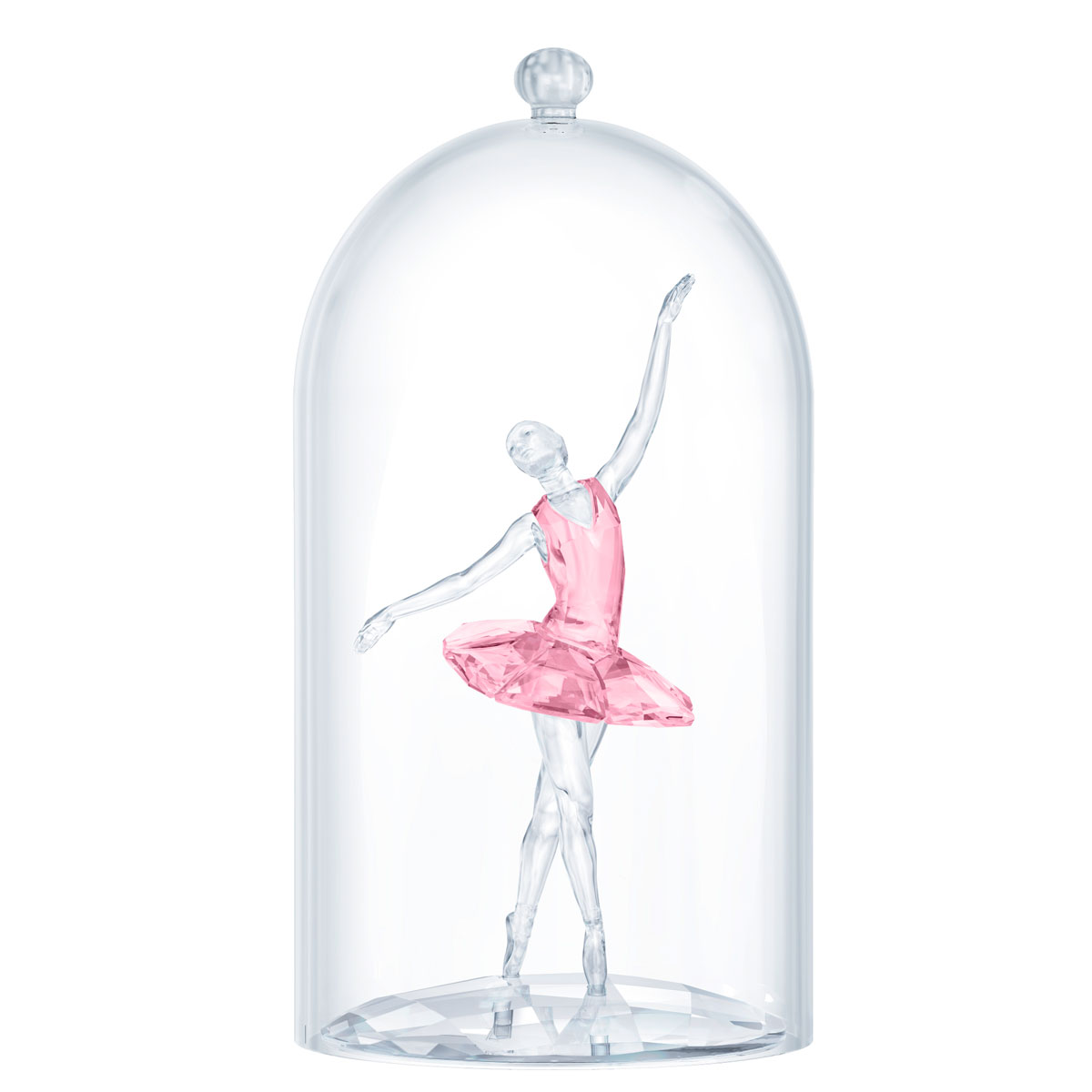 Swarovski Dancers Ballerina Under Bell Jar
