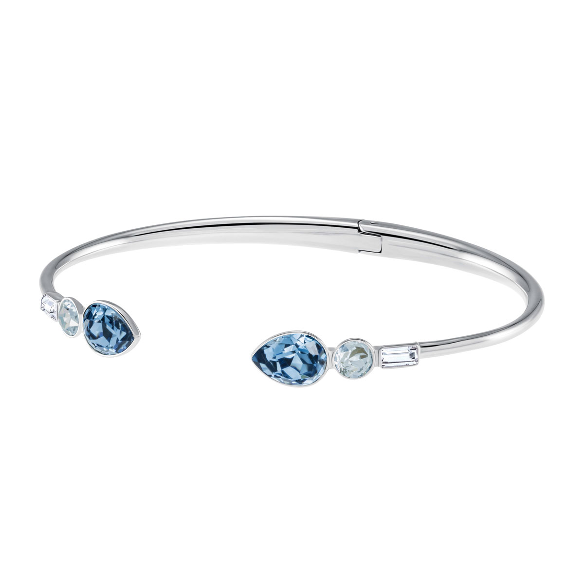 Swarovski Mix and Match Bangle, Multi Colored, Stainless steel