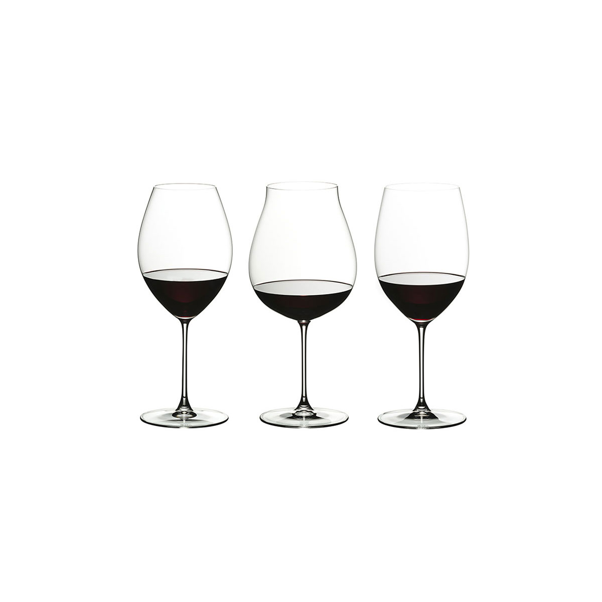 Riedel Veritas, Red Wine Tasting Crystal Wine Glasses, Set