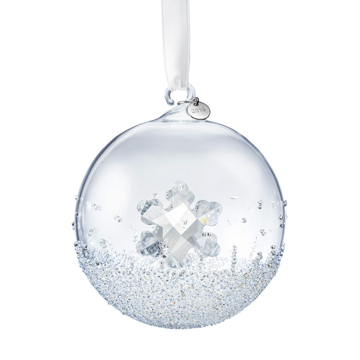 Swarovski Christmas Ball Ornament, Annual Edition 2019