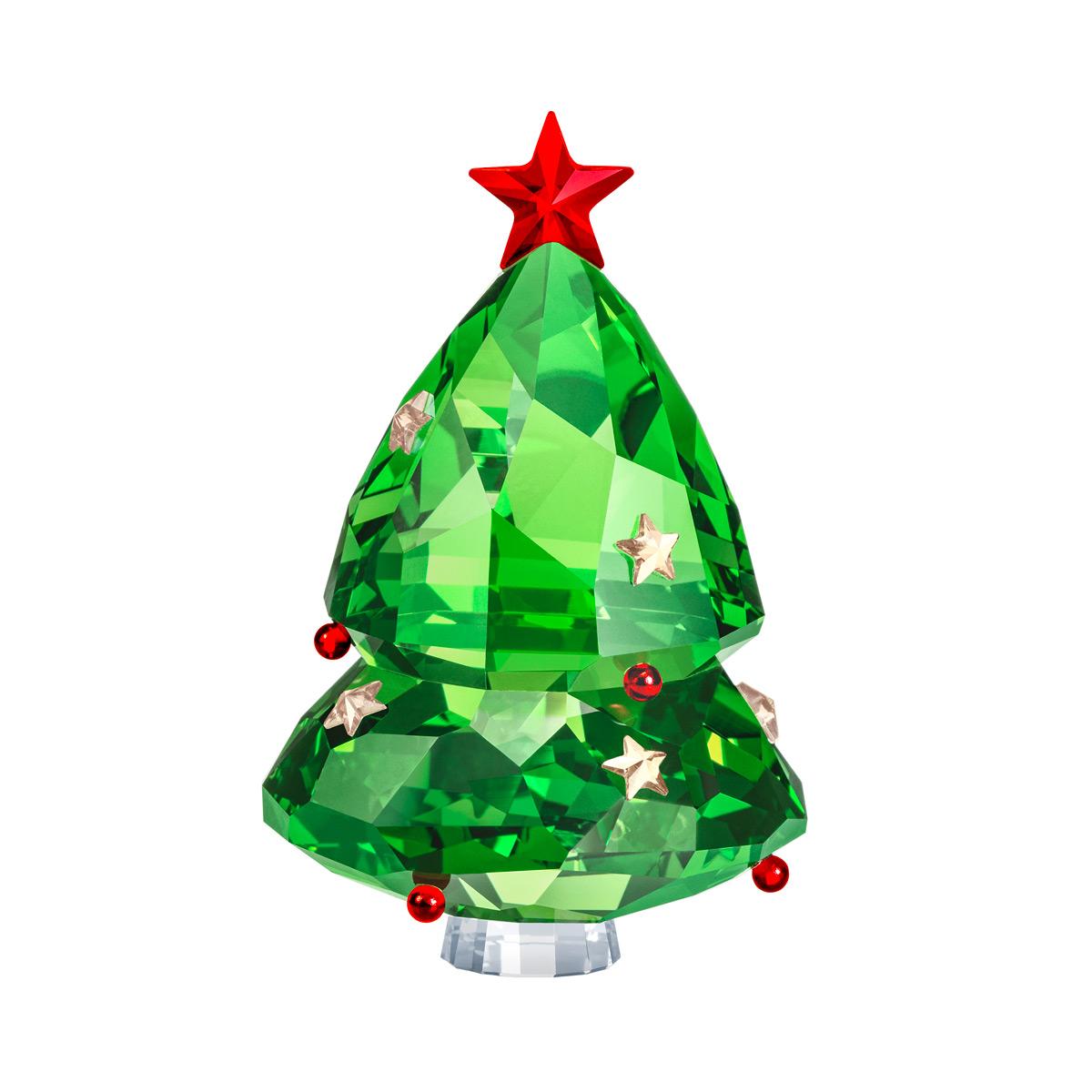 Swarovski Christmas Tree, Green