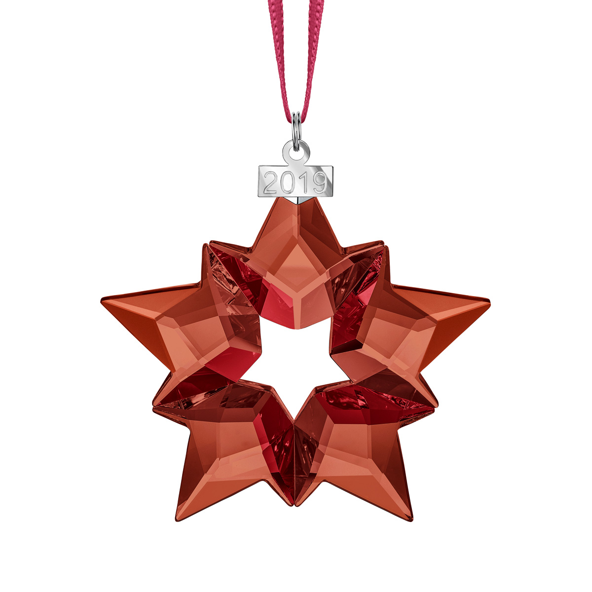 Swarovski Red Holiday Ornament, Annual Edition 2019