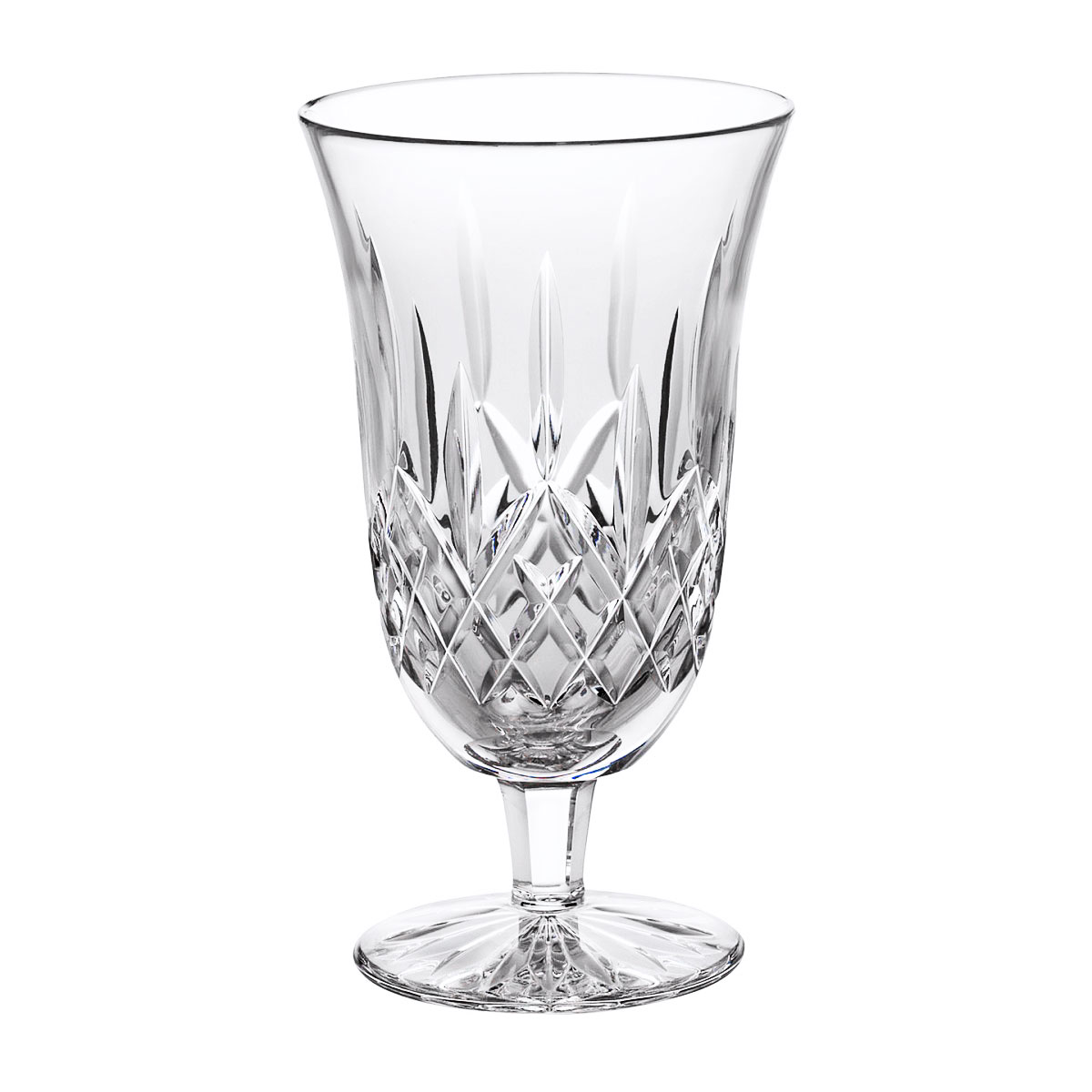 Waterford Crystal, Lismore Footed Crystal Iced Beverage Glass, Pair
