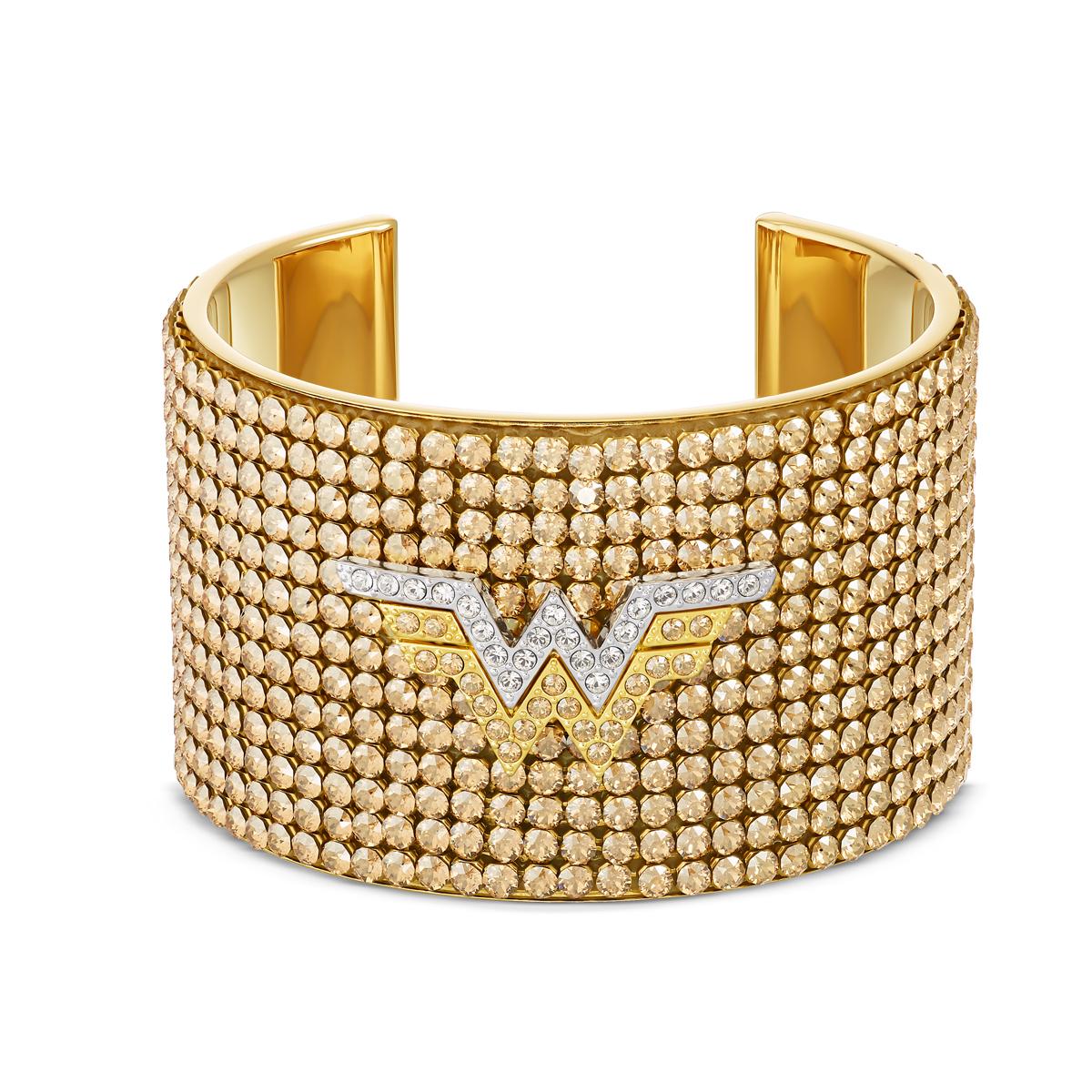 Swarovski Warner Bros. Bracelet Fit WW Cuff Crystal Mix M