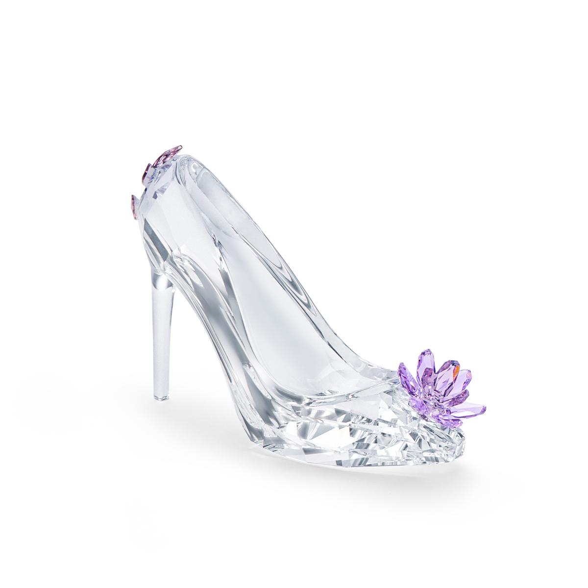 Swarovski Crystal Treasures Shoe With Flower