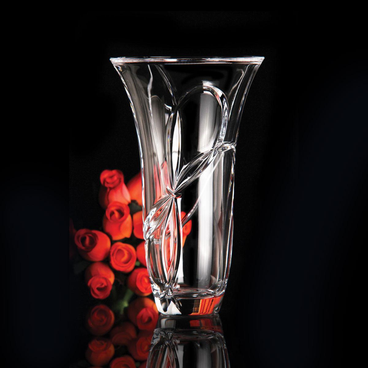 Vera Wang Wedgwood Love Knots 10 Quot Vase Crystal Classics