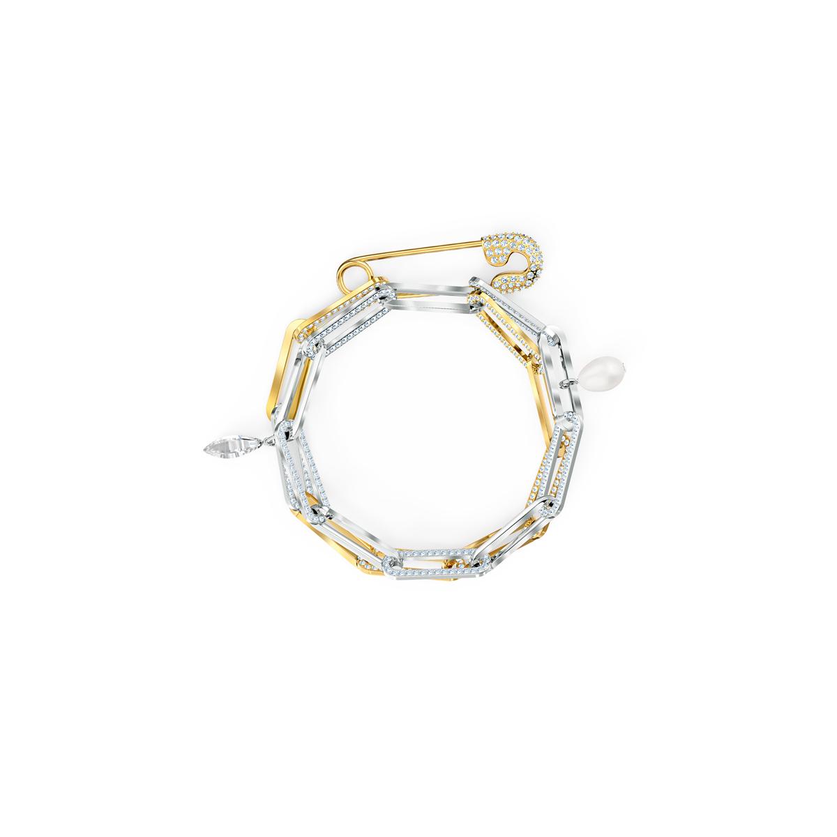 Swarovski Crystal So Cool Chain Bracelet