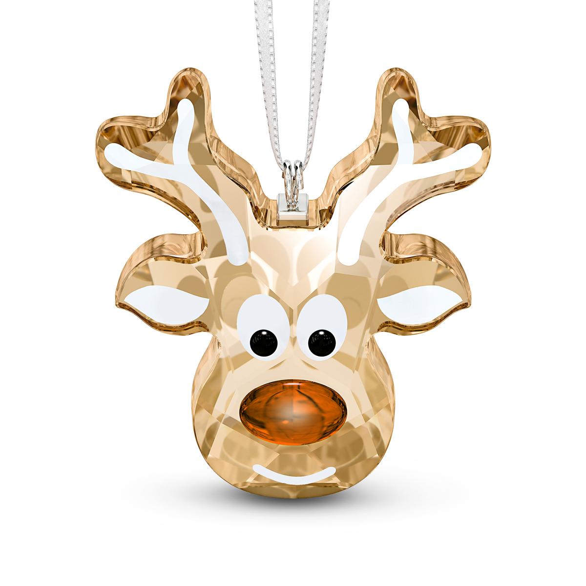 Swarovski 2020 Gingerbread Reindeer Ornament