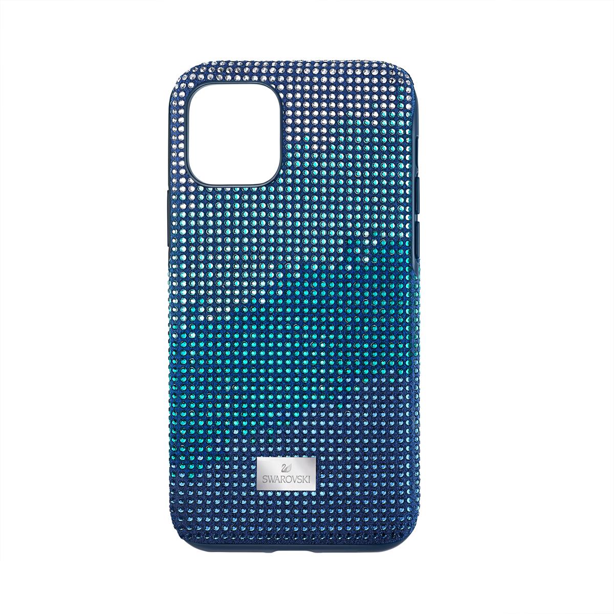 Swarovski Mobile Phone Case Crystalgram iPhone 11 Pro Case Blue Anniversary