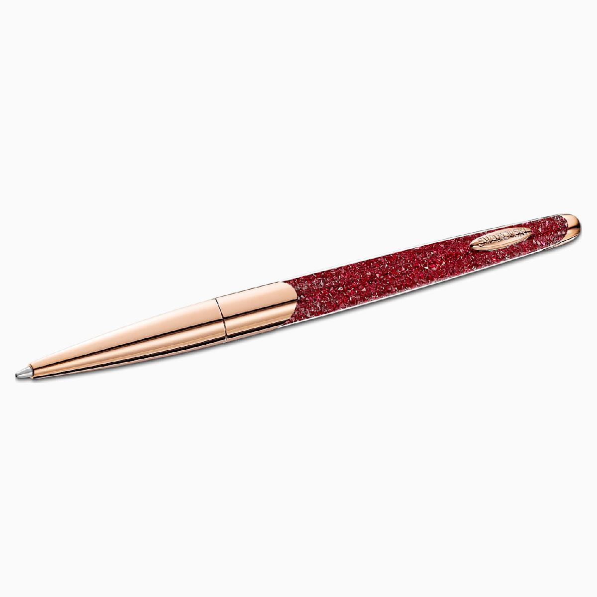 Swarovski Crystalline Nova Ballpoint Pen Ruby Rose Gold