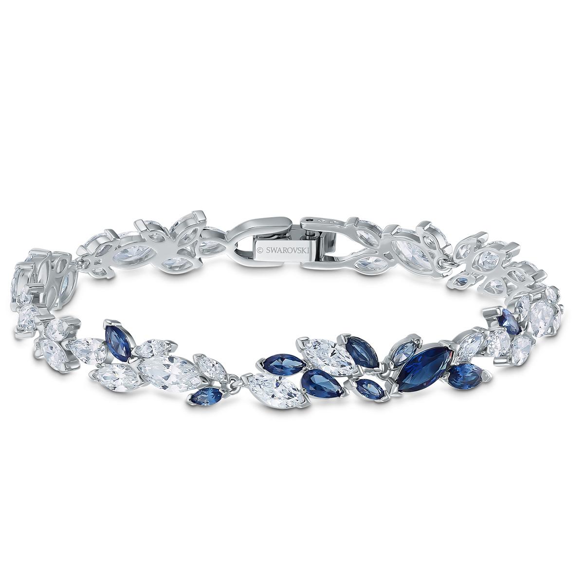Swarovski Bracelet Louison Crystal Rhodium Silver Anniversary
