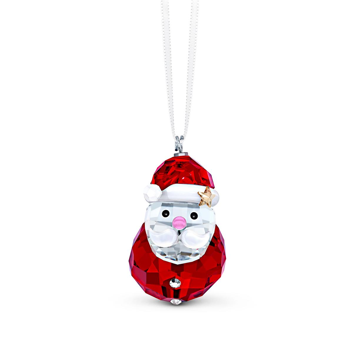 Swarovski 2020 Rocking Santa Claus Ornament