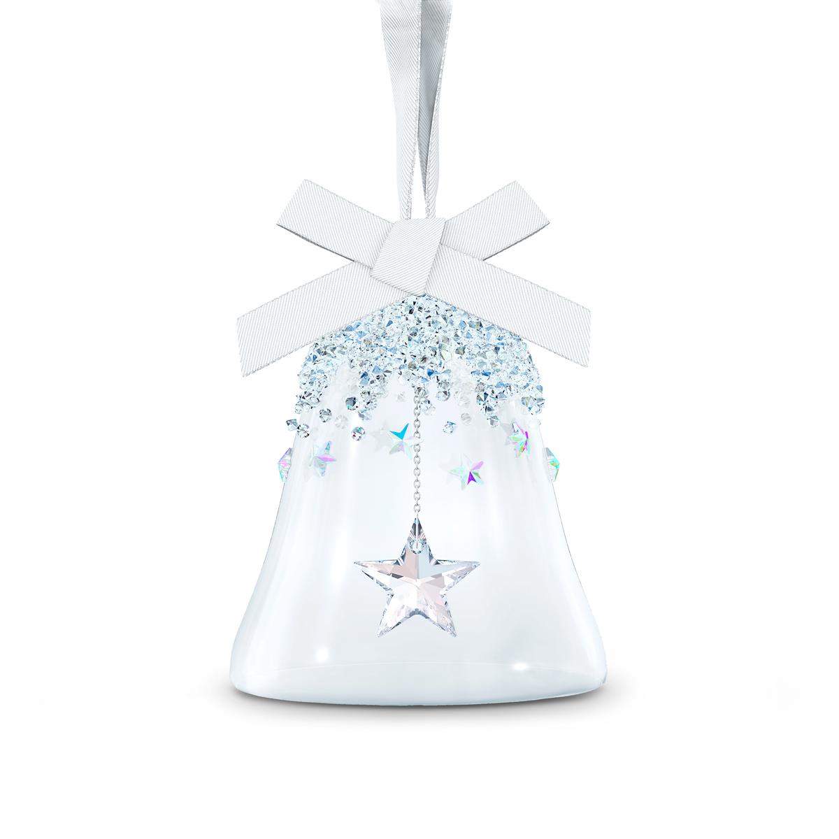 Swarovski Bell Ornament, Star, Small