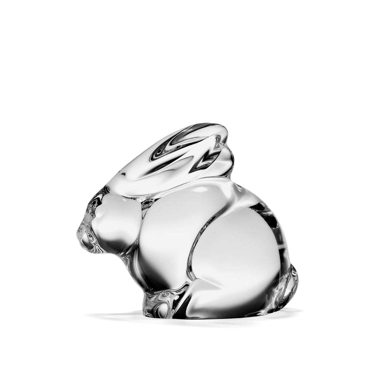 Steuben Bunny Hand Cooler Paperweight