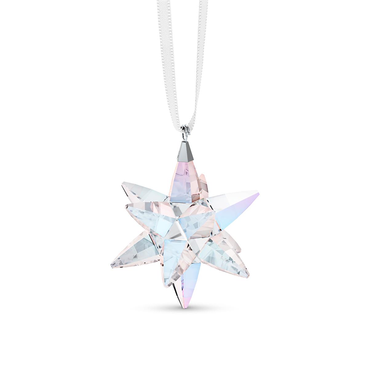 Swarovski Star Ornament, Shimmer, Small