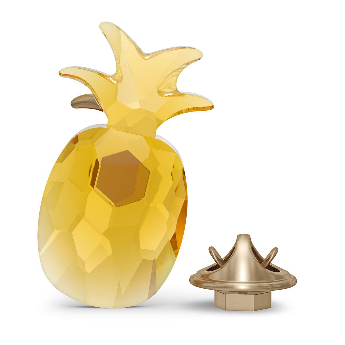 Swarovski Jungle Beats Magnet Pineapple Yellow Large