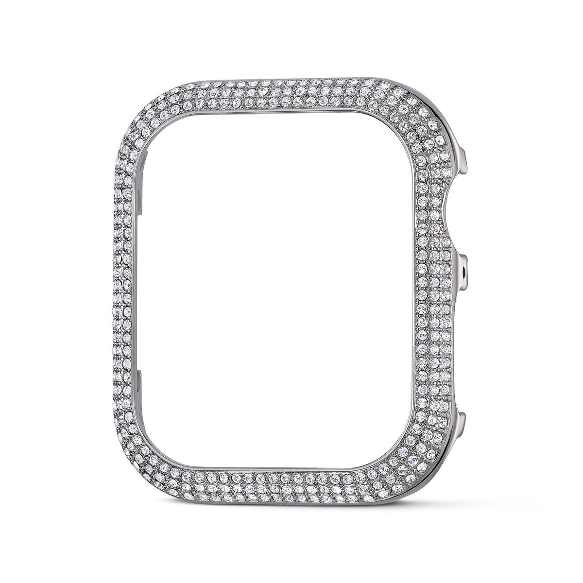 Swarovski Apple Watch Sparkling 40mm Case Silver Crystals