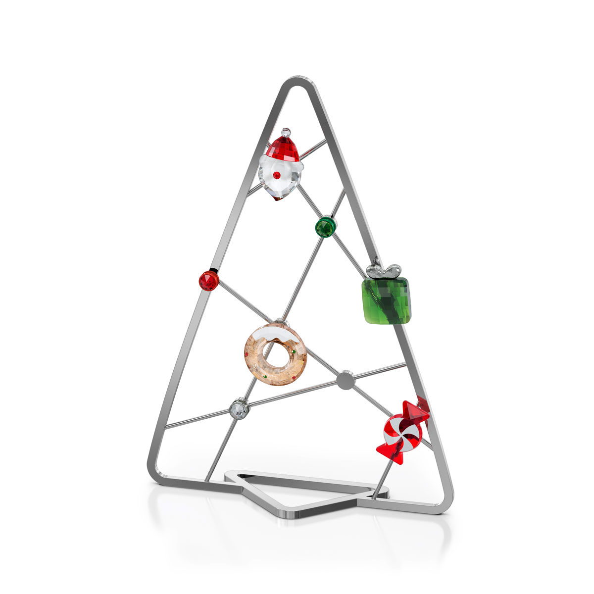 Swarovski Holiday Cheers Tree With Magnets, Set of 7