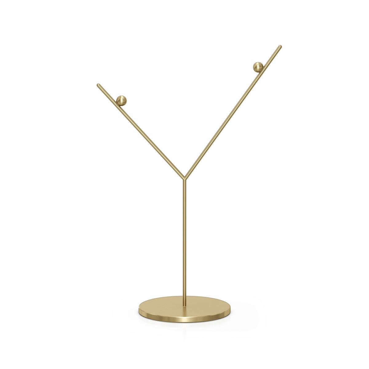 Swarovski Display Ornament Stand Gold Tone