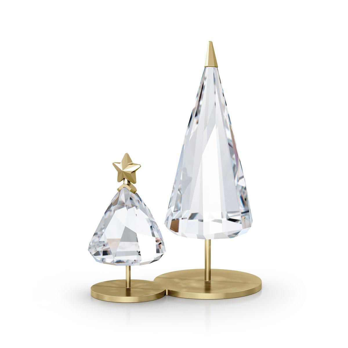 Swarovski Holiday Magic Christmas Tree Duo