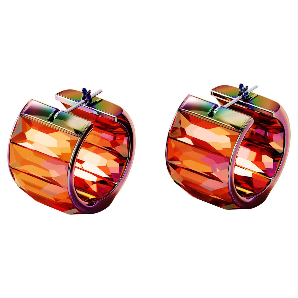 Swarovski Curiosa Earrings, Pink, Pair