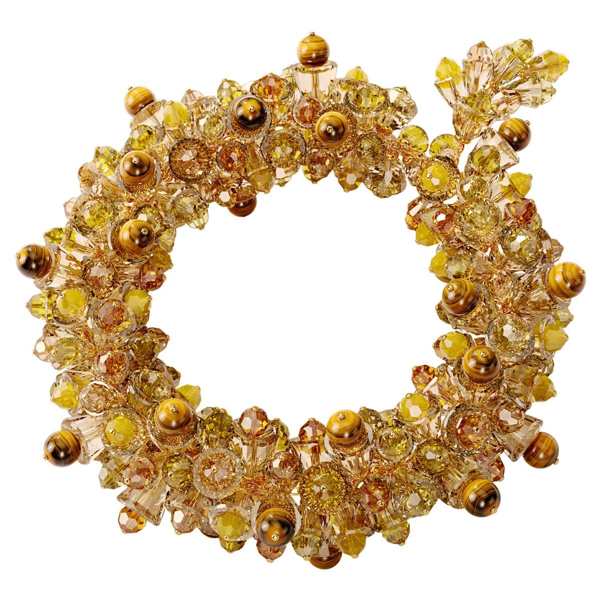 Swarovski Somnia Necklace, Multicolored, Gold-Tone Plated