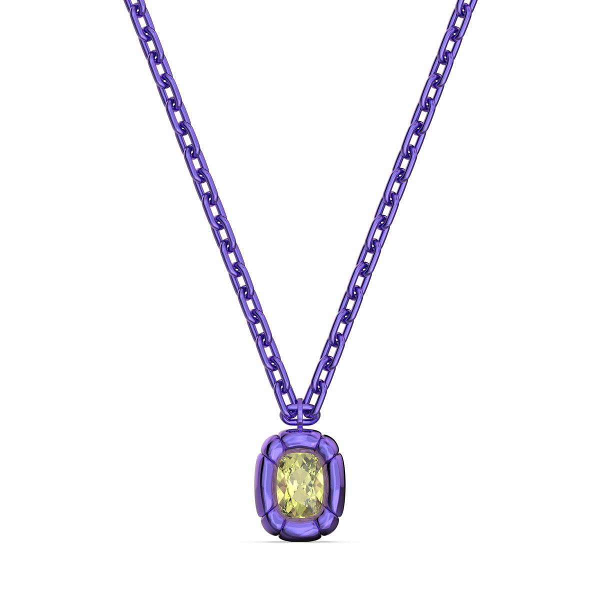 Swarovski Dulcis Necklace, Purple