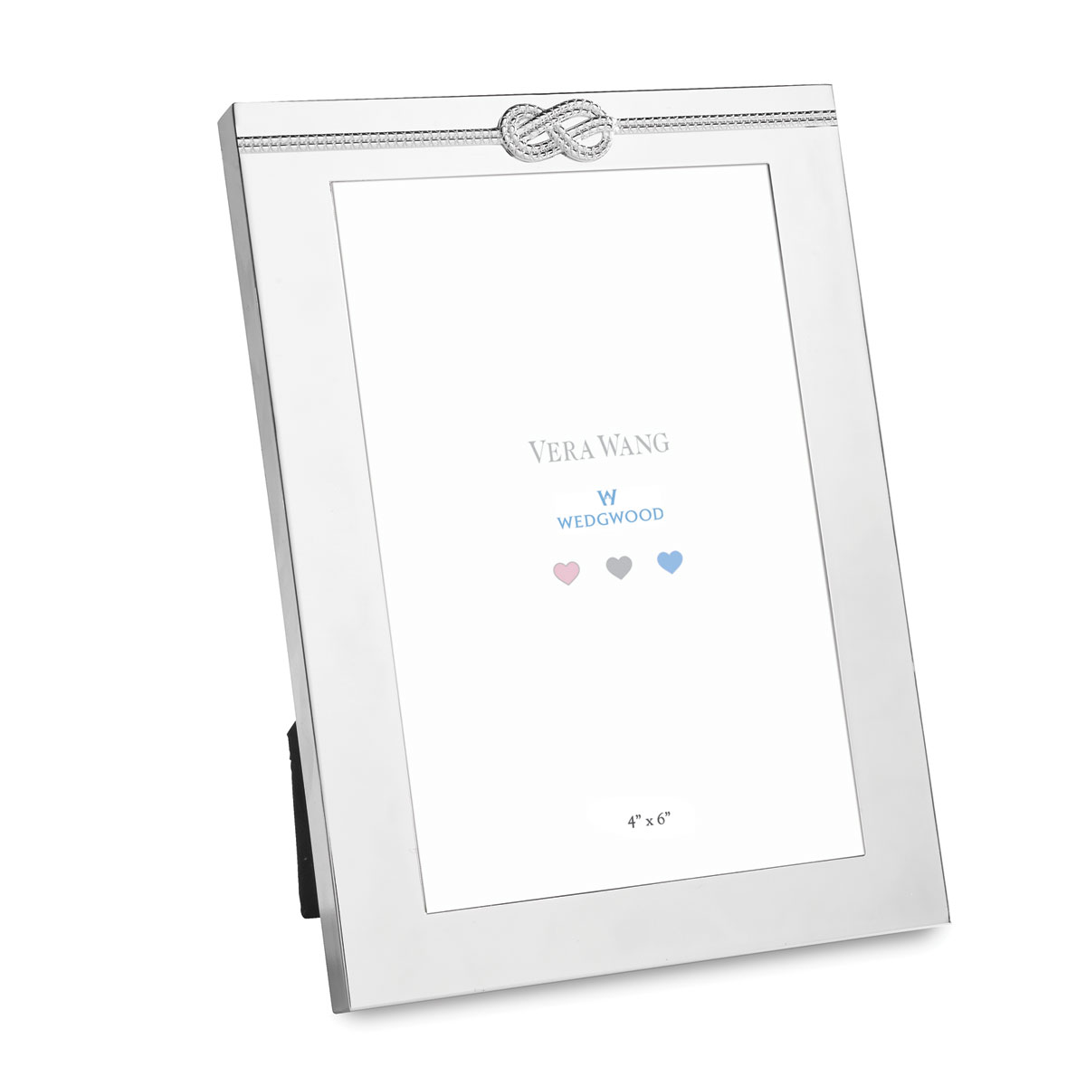 """Vera Wang Wedgwood Oh Baby, Infinity 4x6"""" Picture Frame"""