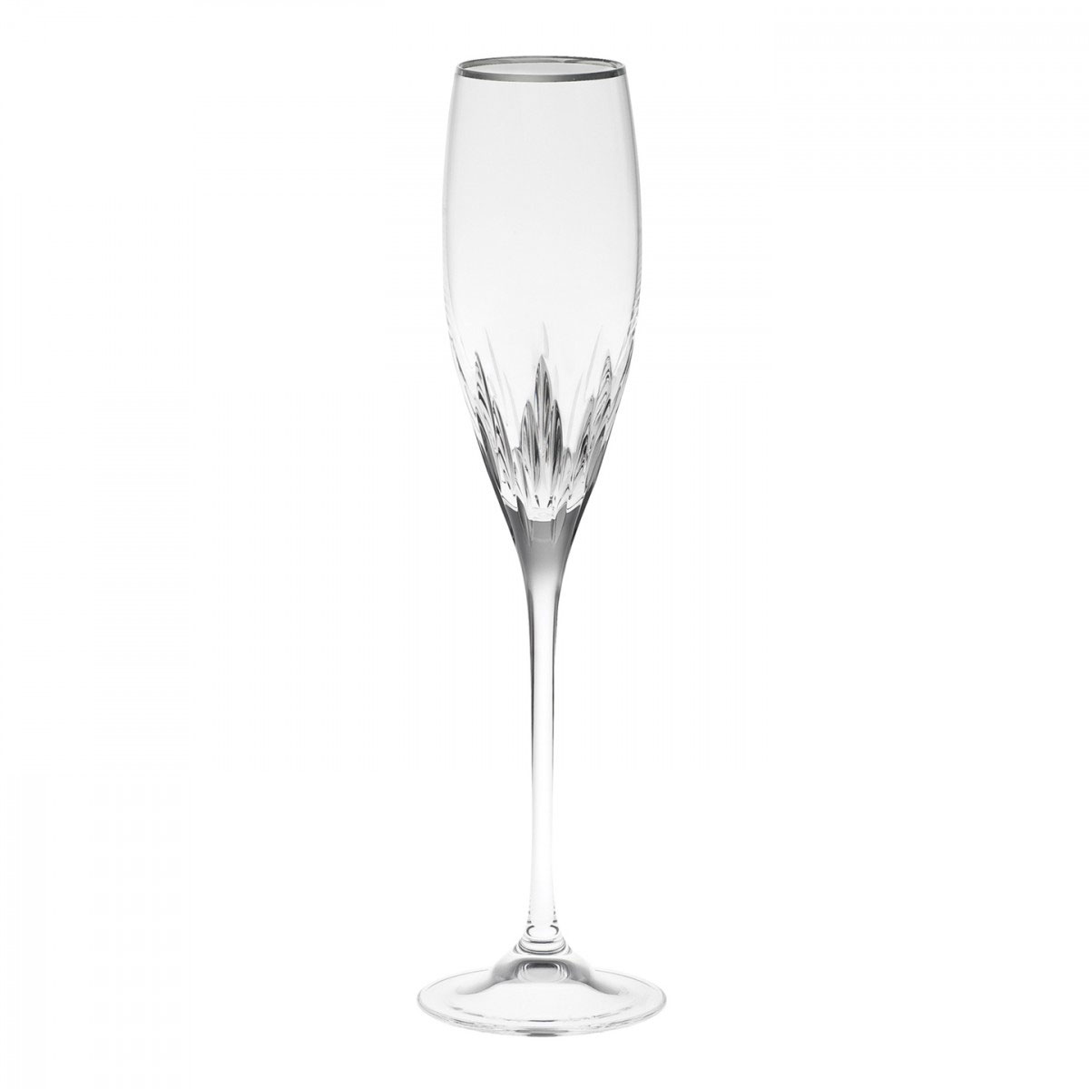 Vera Wang Wedgwood, Duchesse Platinum Crystal Flute, Single