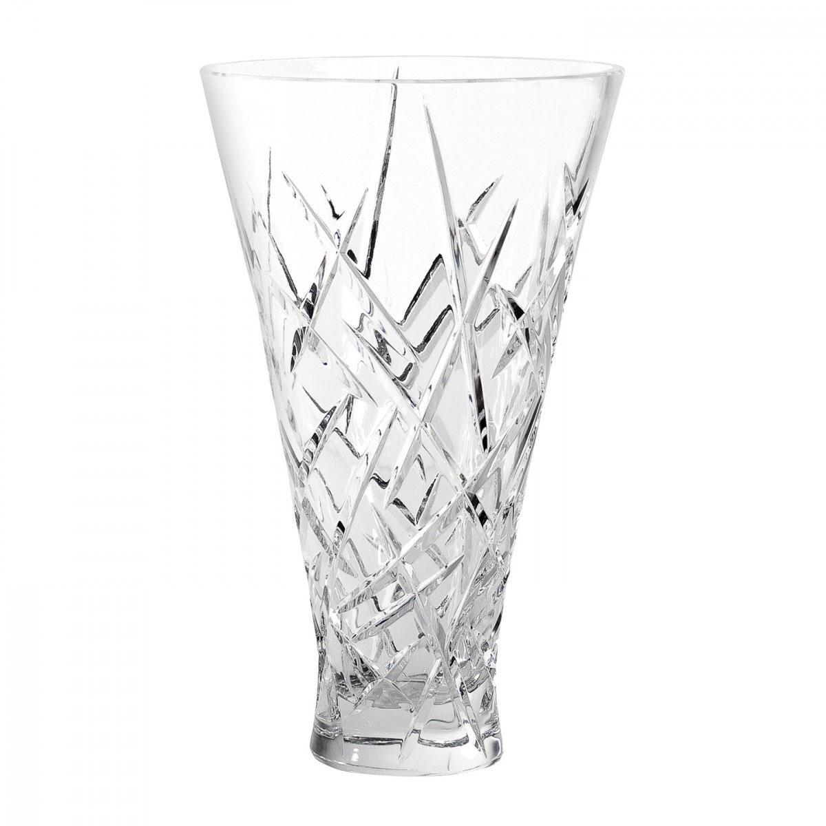 "Vera Wang Wedgwood, Duchesse 10"" Encore Crystal Vase"