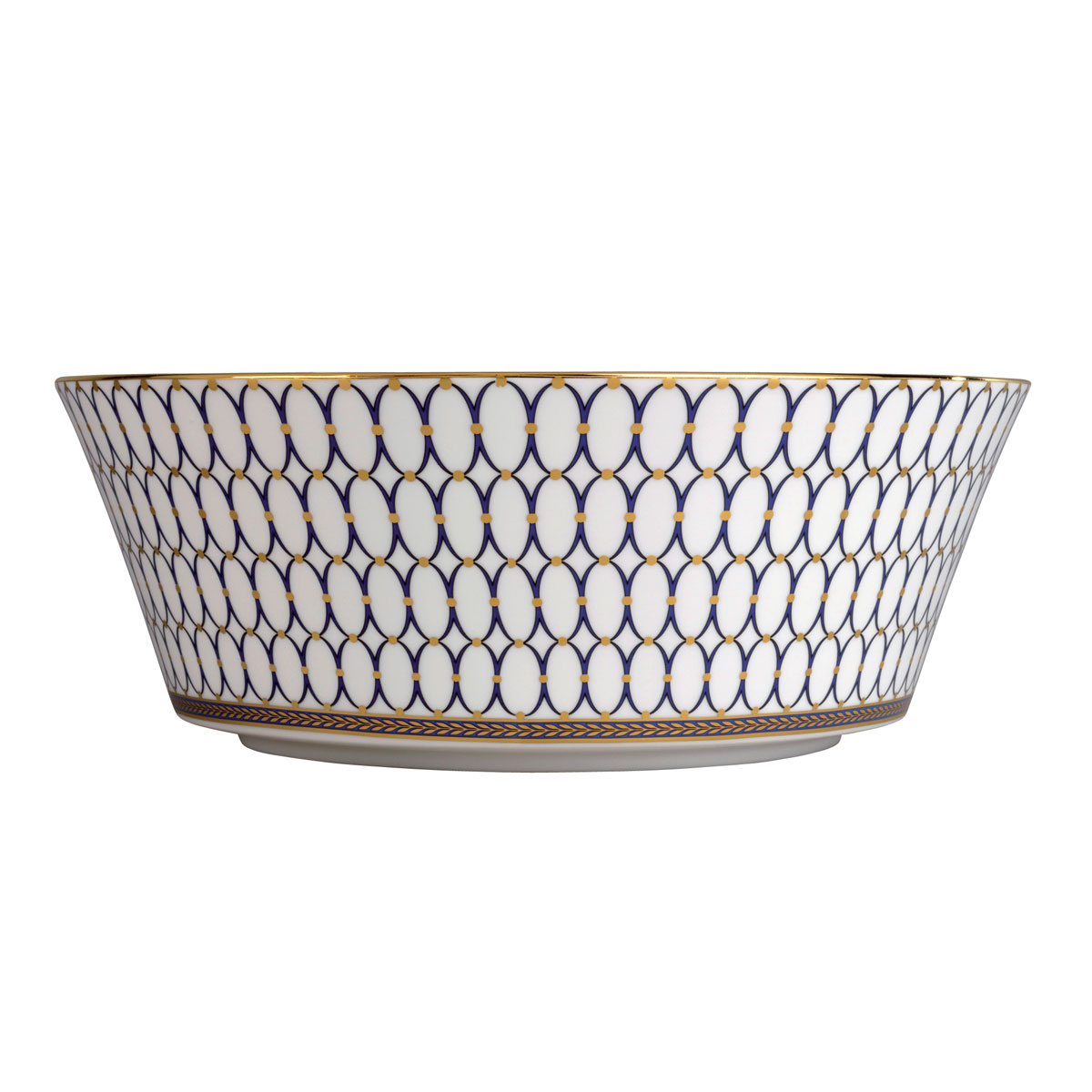 "Wedgwood Renaissance Gold Serving Bowl 10"""
