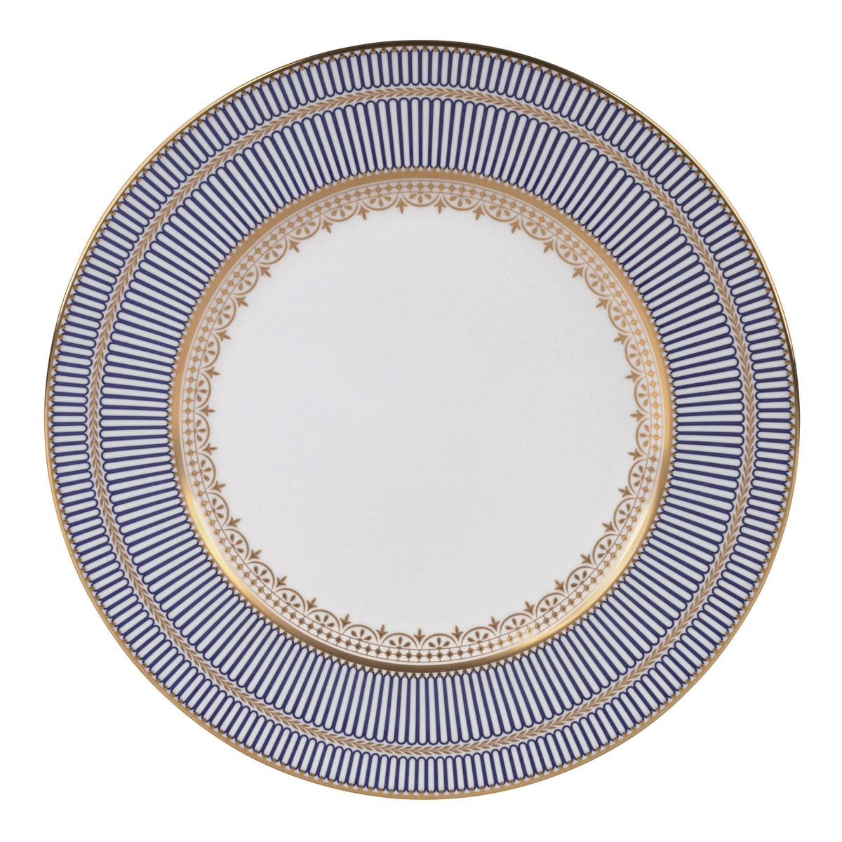 Wedgwood Anthemion Blue Dinner Plate, Single