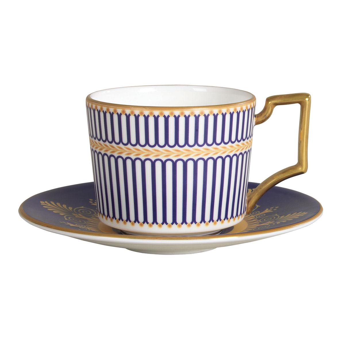 Wedgwood Anthemion Blue Espresso Saucer