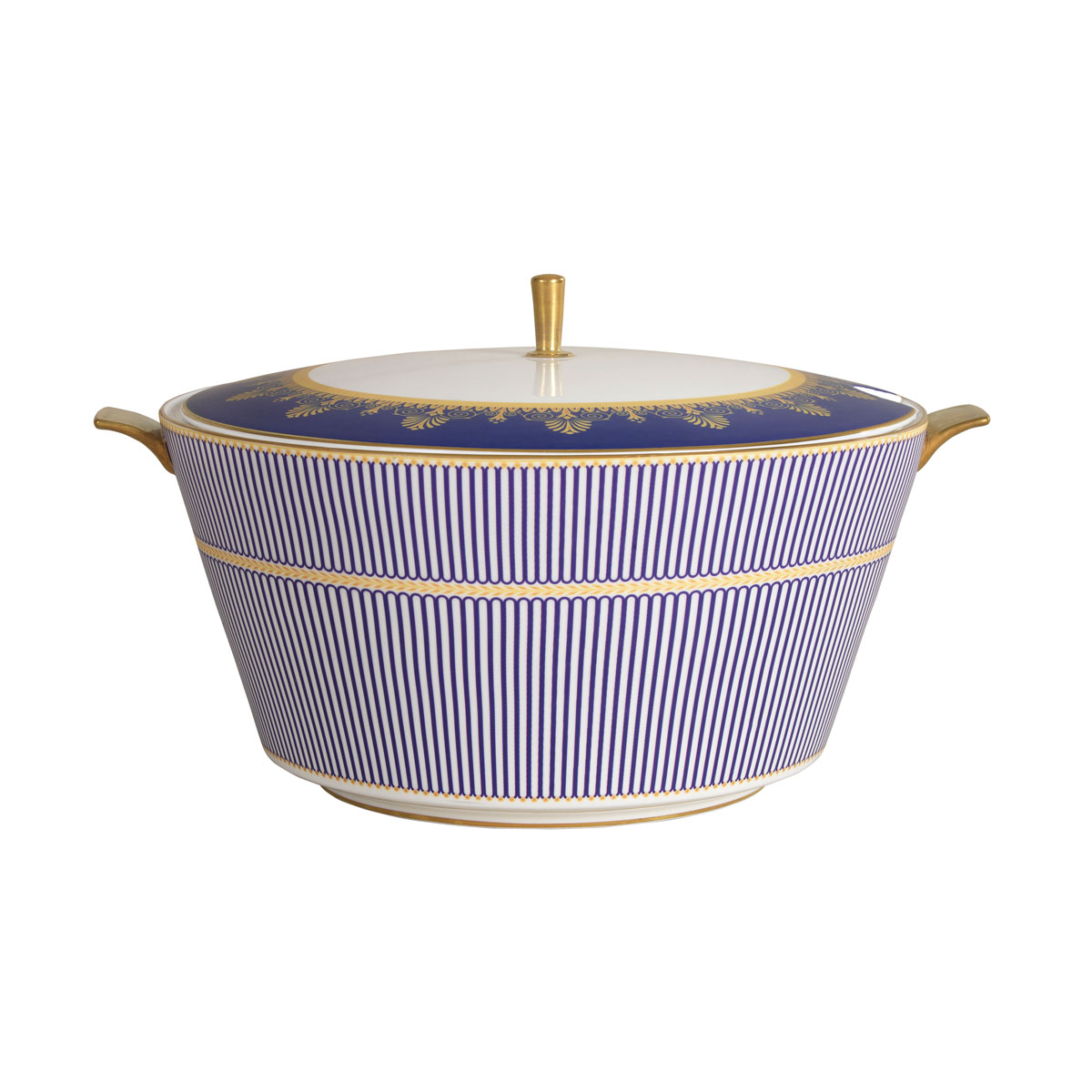 Wedgwood Anthemion Blue Soup Tureen