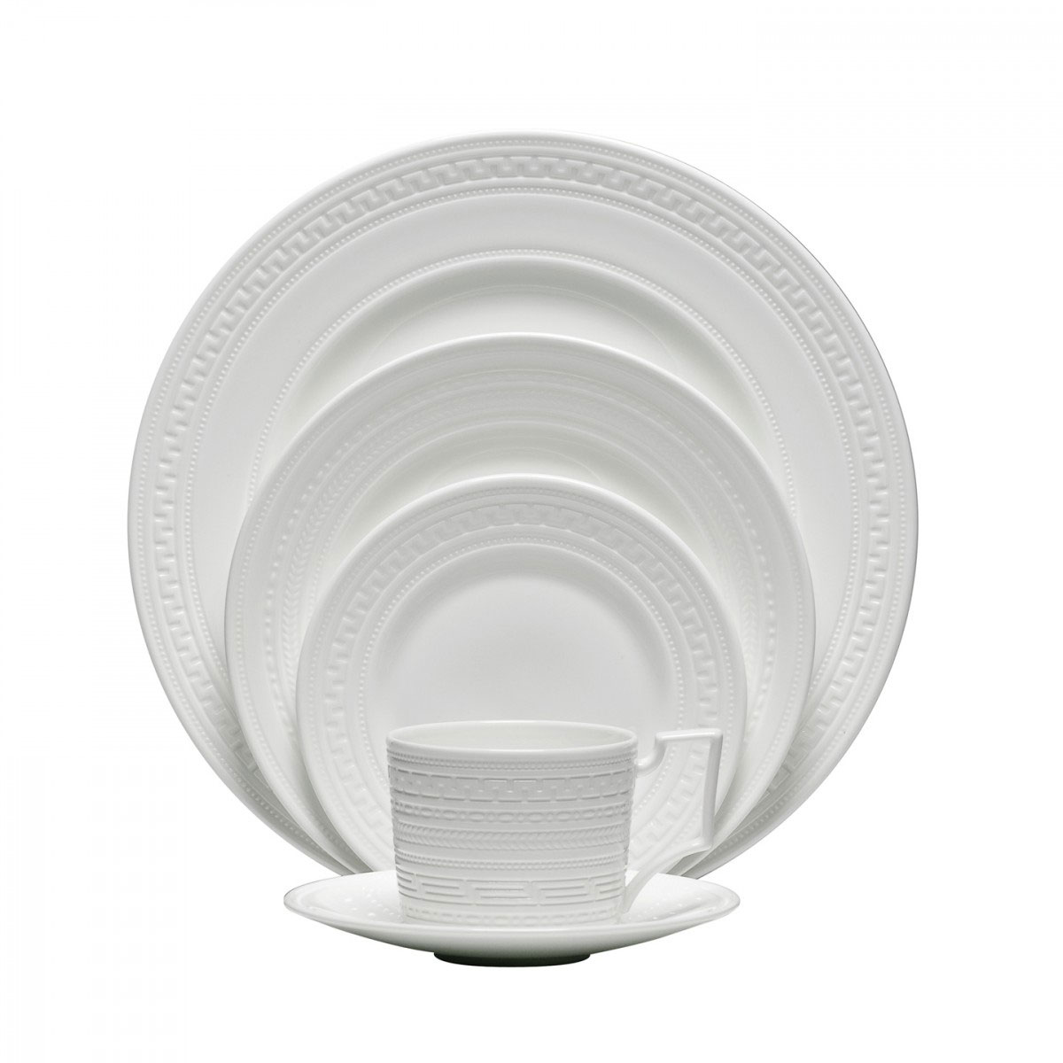 Wedgwood China Intaglio, 5 Piece Place Setting