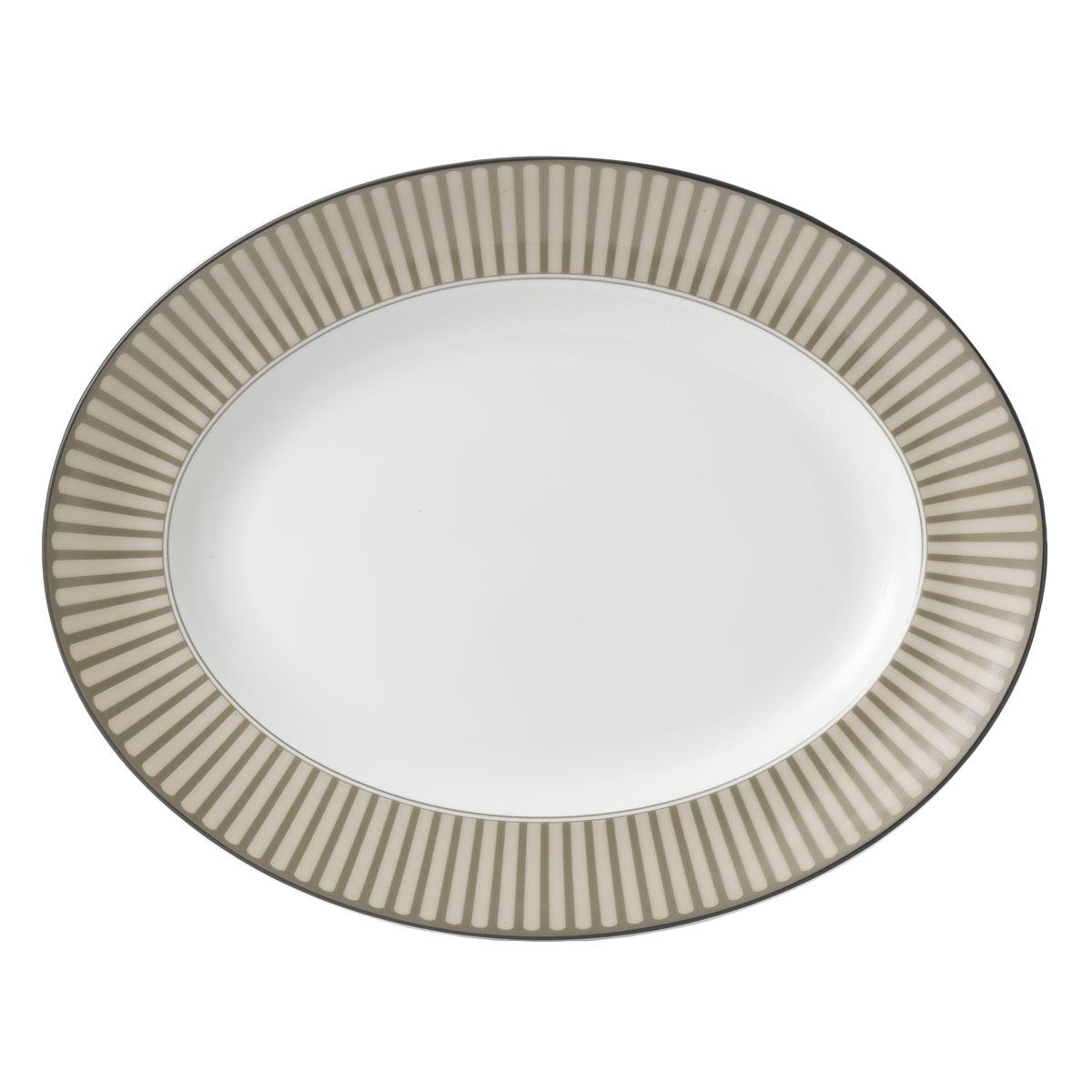 """Wedgwood China Parkland Oval Platter 14"""""""