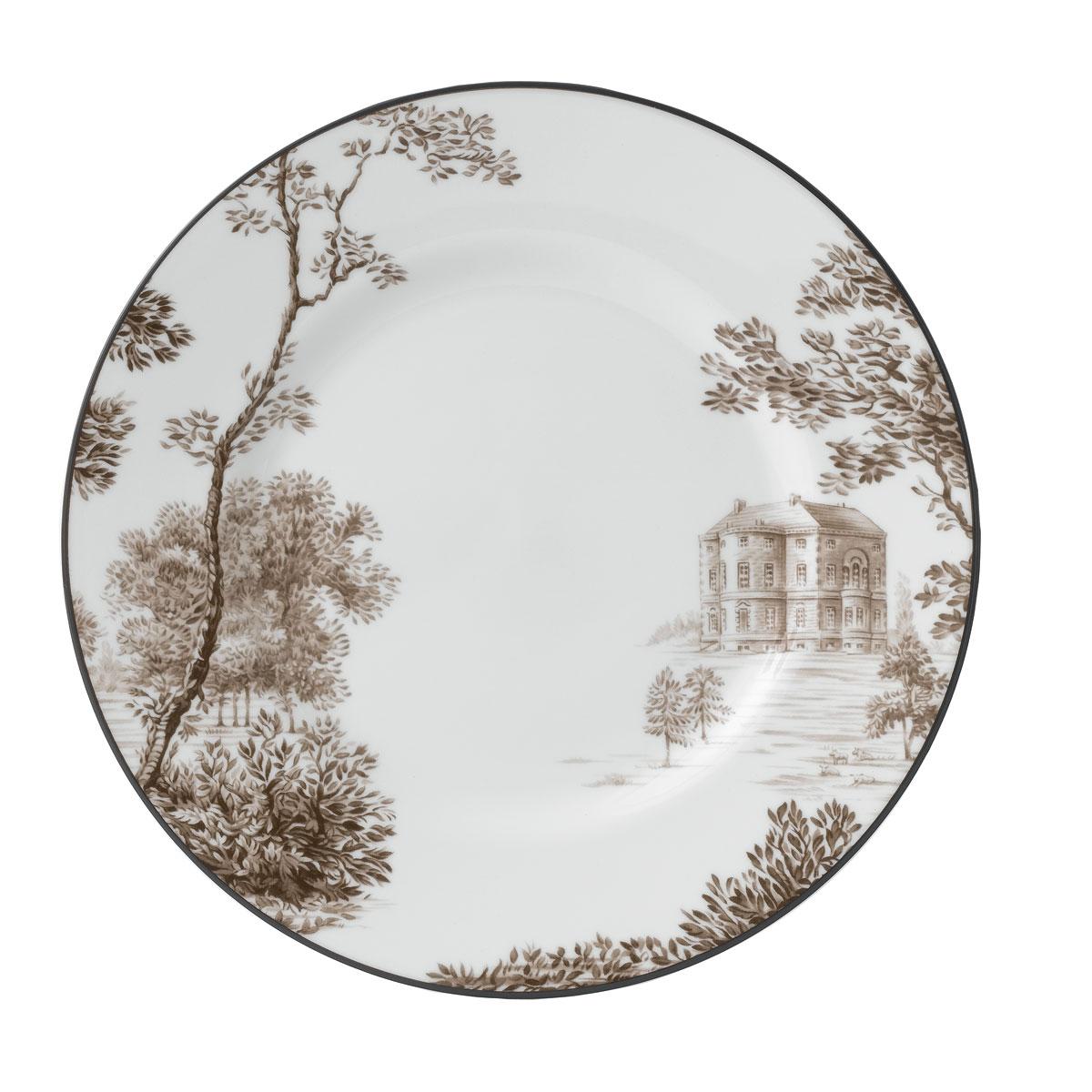 "Wedgwood China Parkland Accent Plate 9"" Barlaston Hall"