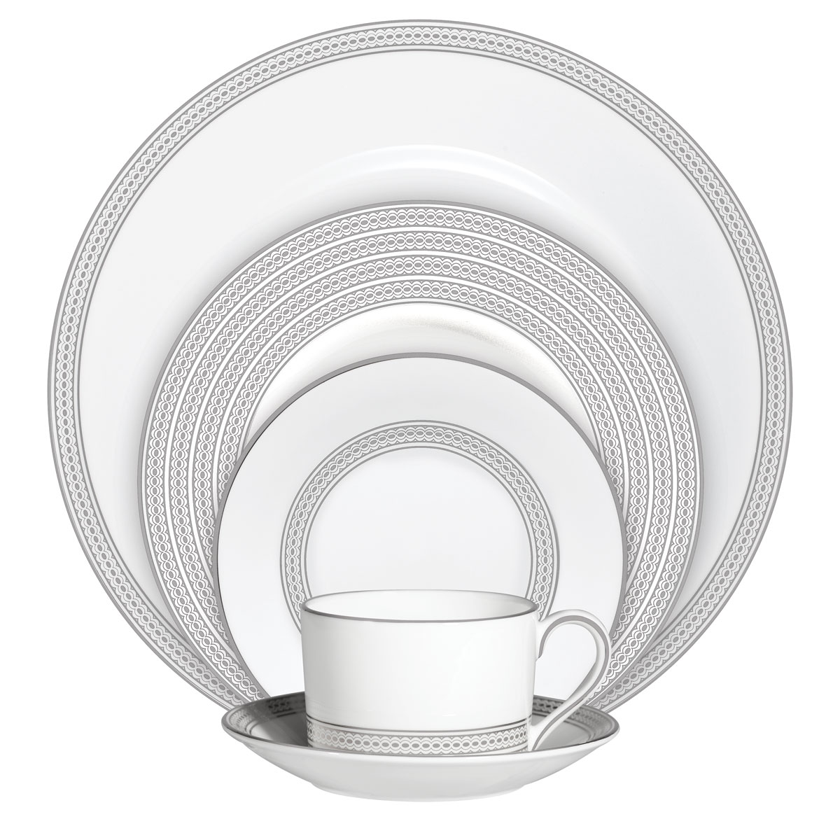 Vera Wang Wedgwood China Moderne, 5 Piece Place Setting