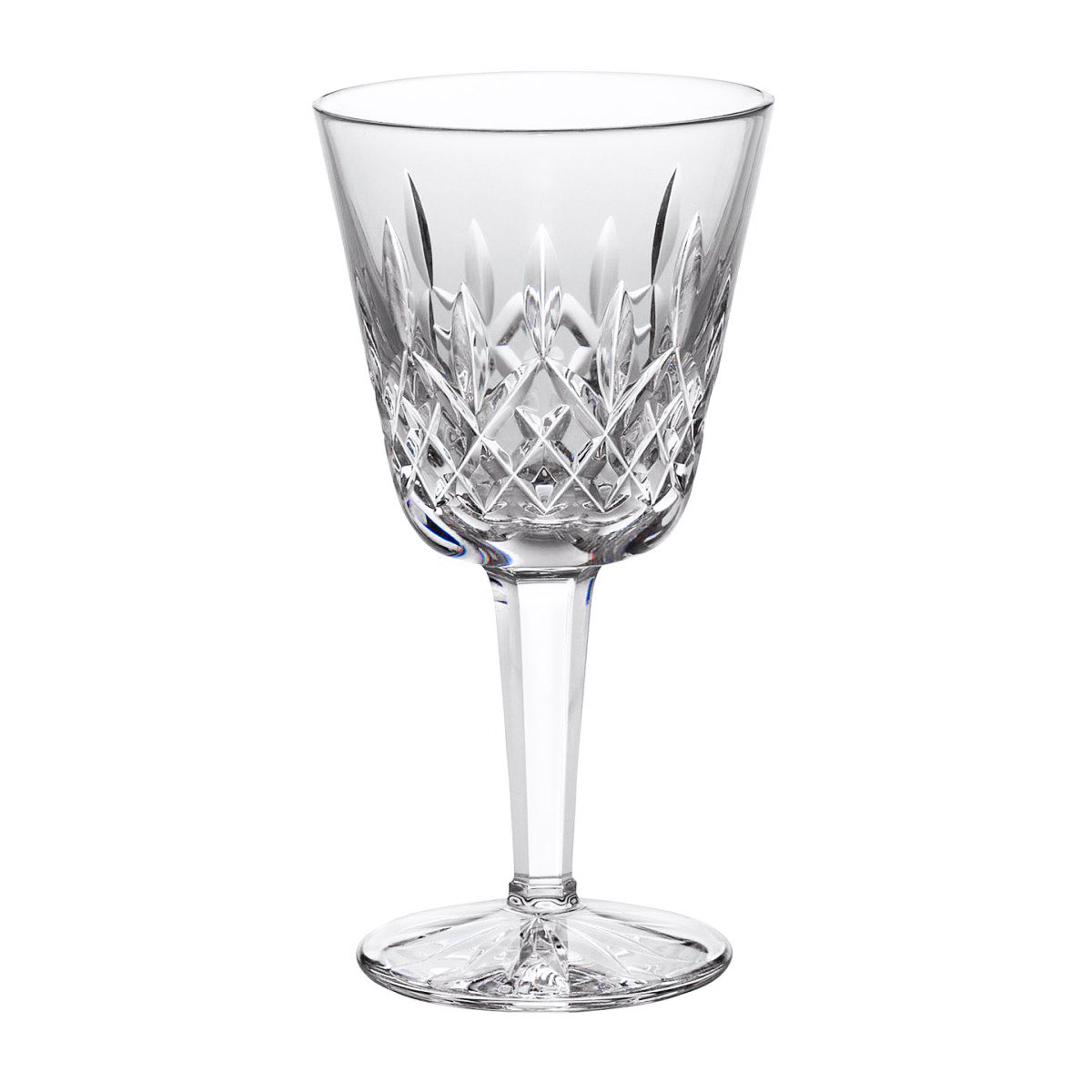 Waterford Crystal, Lismore Classic Claret, Crystal Red Wine, Single