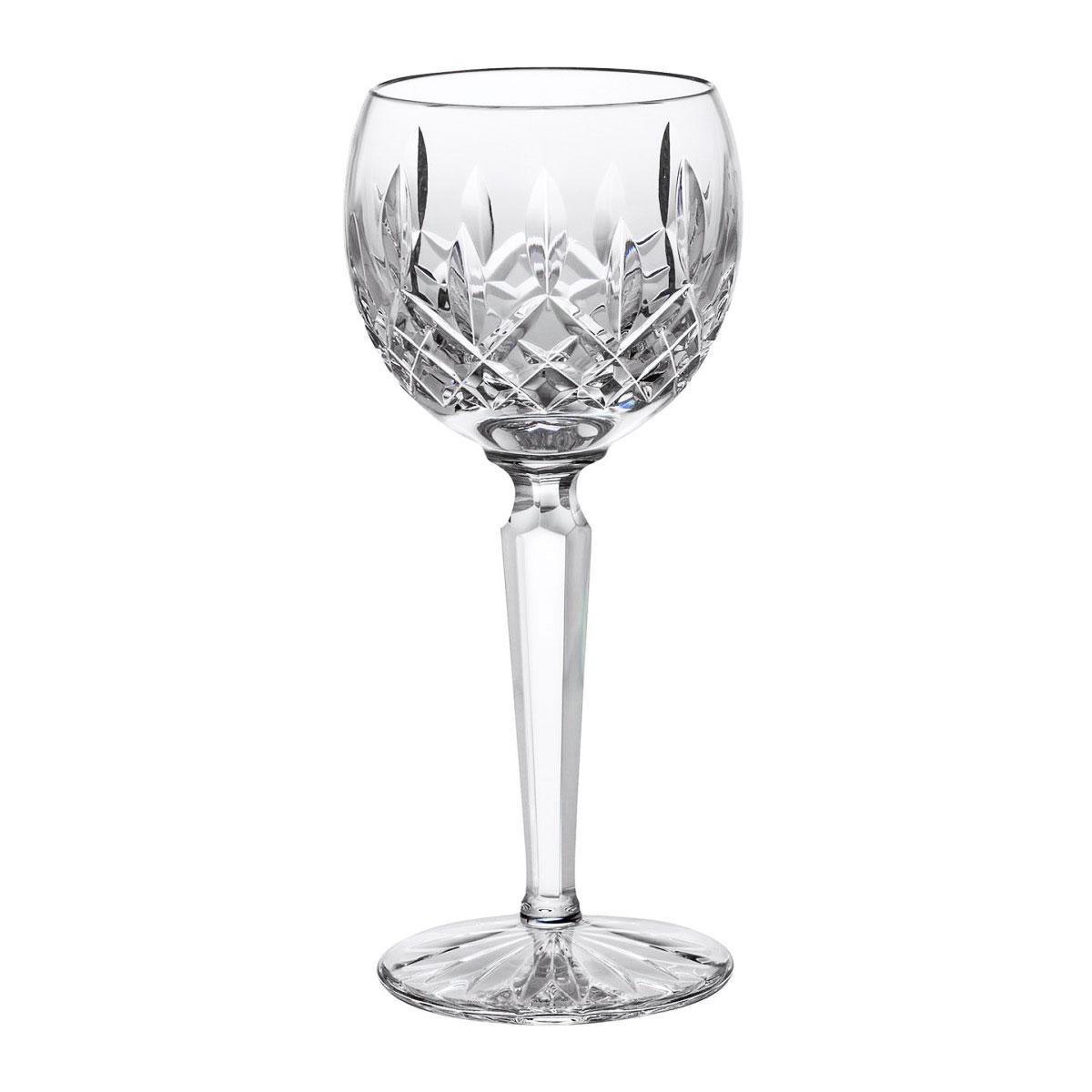 Waterford Crystal, Lismore Hock Crystal Wine Glass, Single