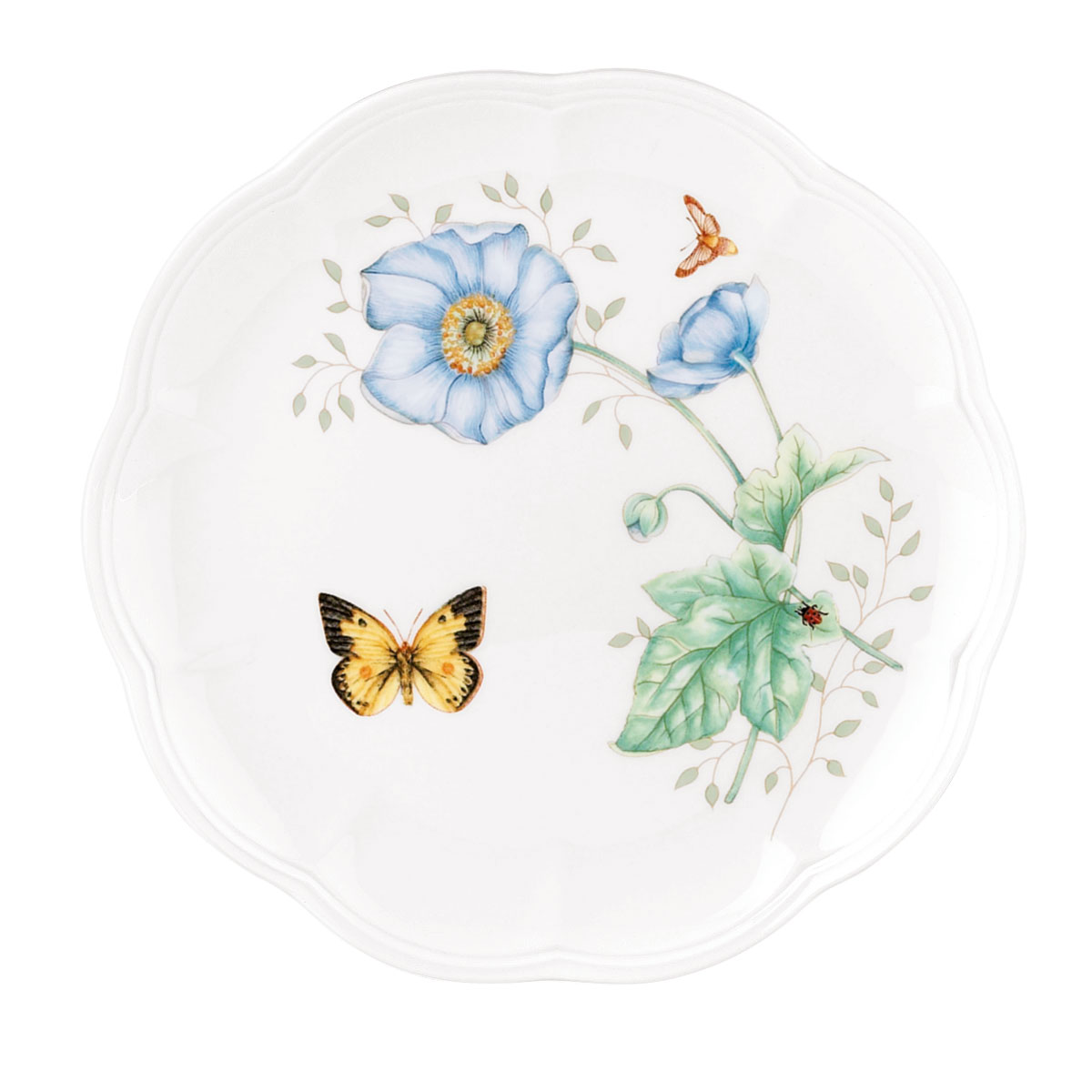 Lenox Butterfly Meadow Dinnerware Monarch Accent Plate