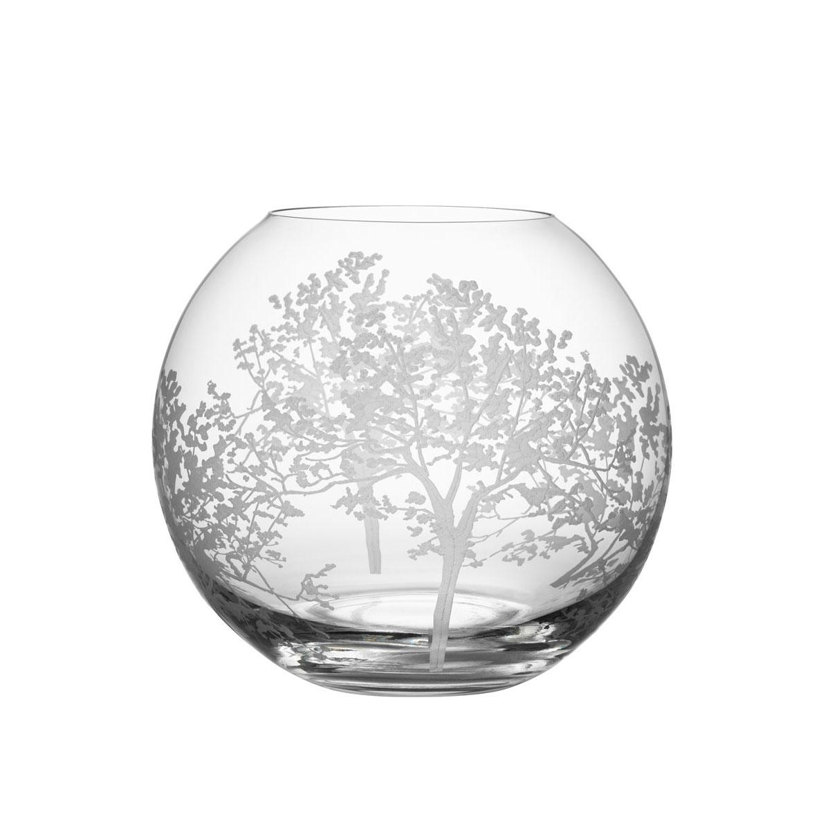 Orrefors Crystal Organic Vase Small