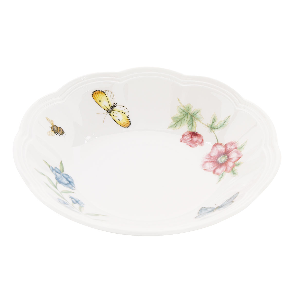 Lenox Butterfly Meadow Dinnerware Fruit Bowl